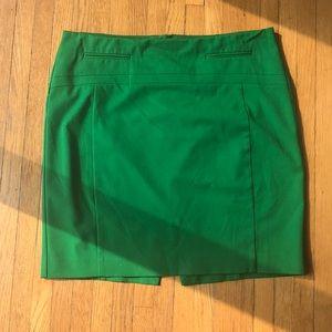 EXPRESS 🐢 Kelly Green Pencil Skirt, Size 10